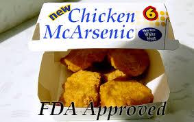 chicken arsenic